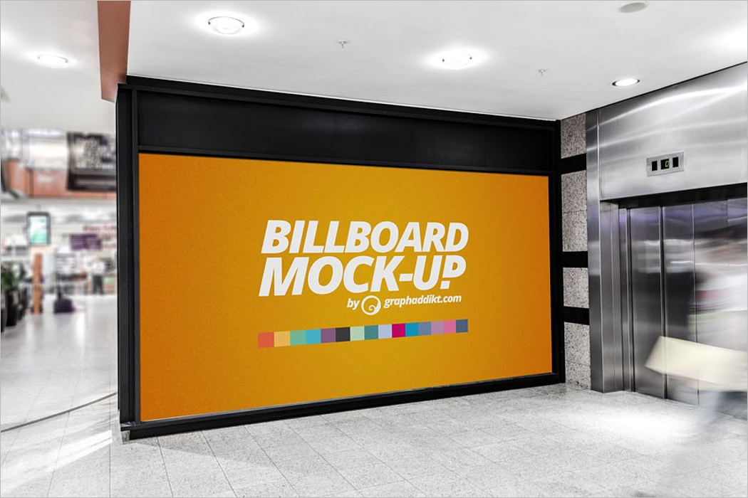 Advertise Billboaerd Mockup
