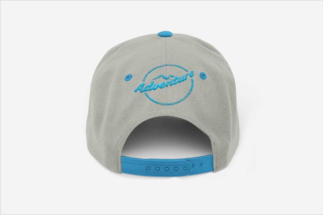 Back Cap Mockup Design