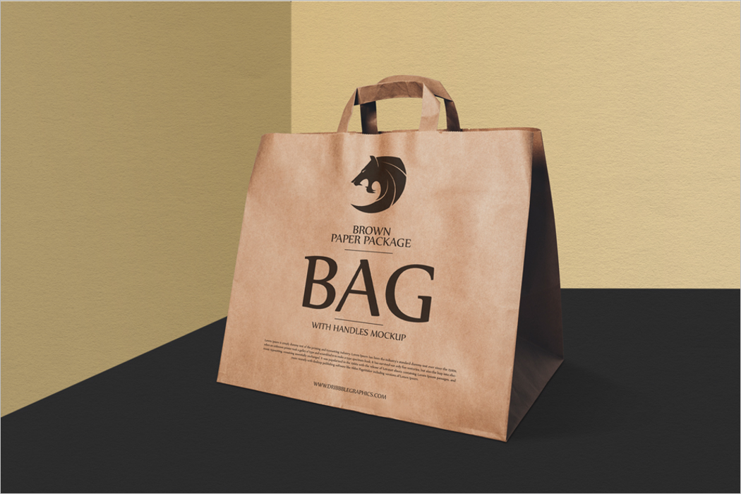 Bag Packaging Mockup Design
