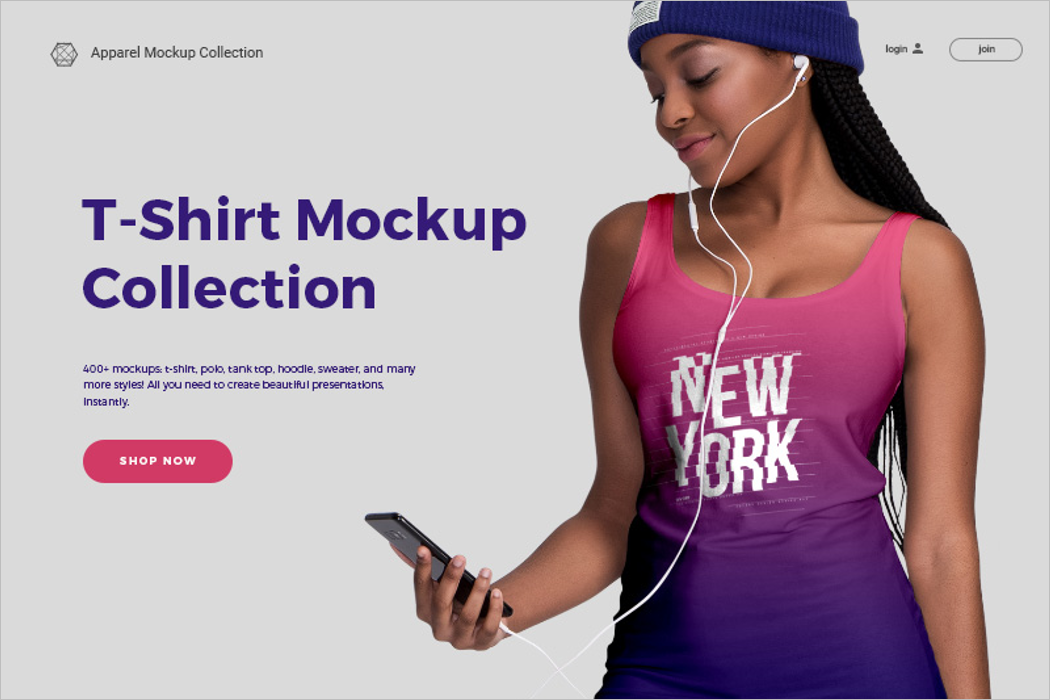Best Collection Of T-Shirt Mockup
