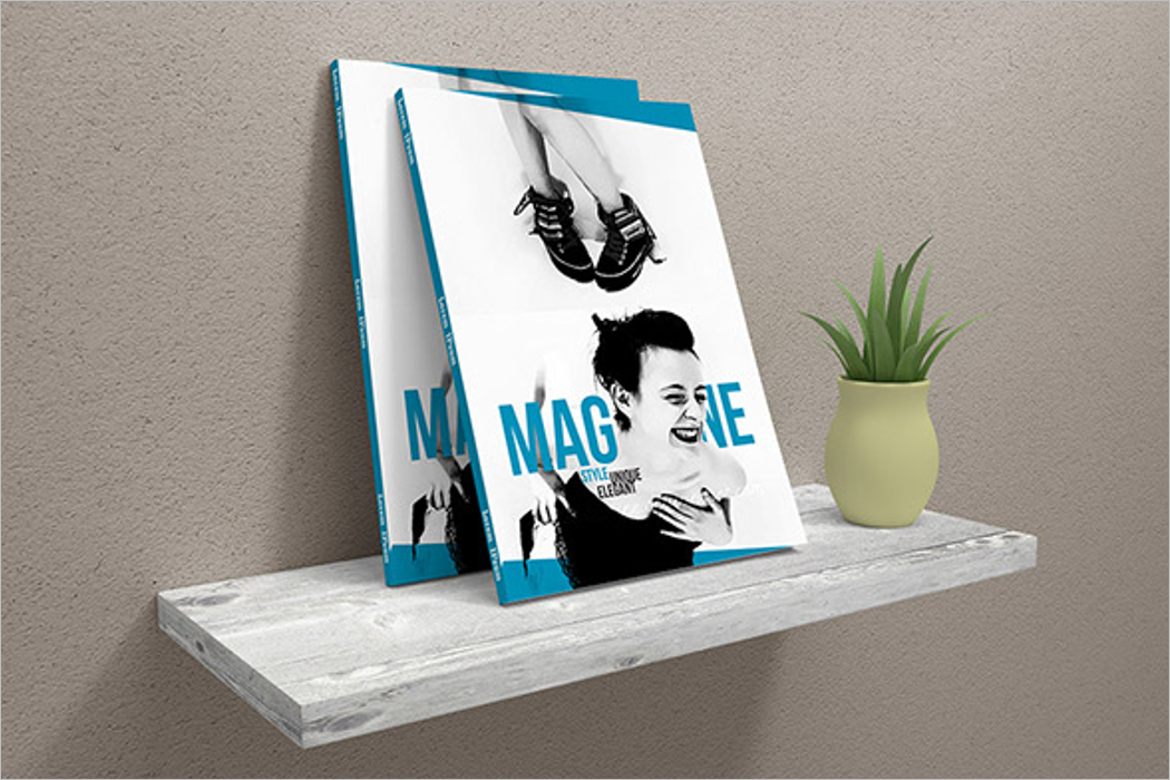 Best Magazine Mockup Design
