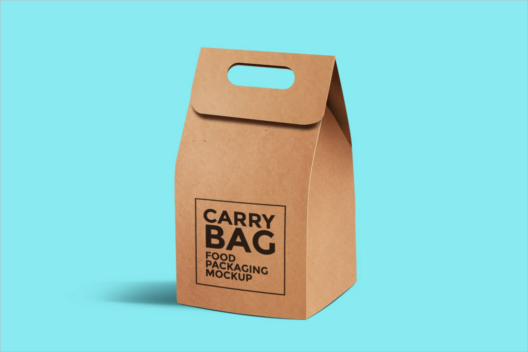 Carry Bag Mockup Design