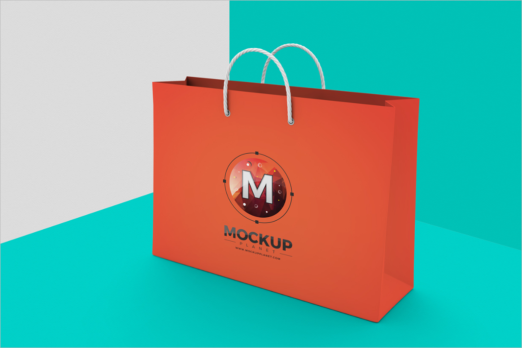 Clean Bag Mockup Design