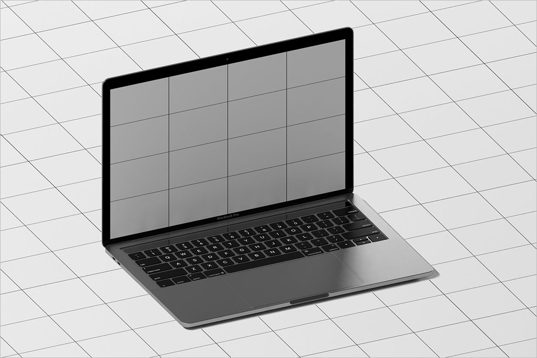Elegant Laptop Mockup Free Design