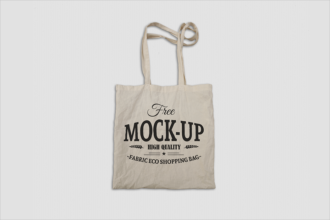 Fabric Bag Mockup Design