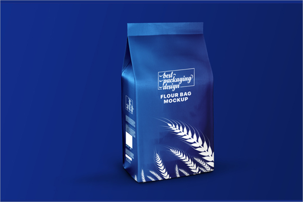 Flour Bag Mockup Design