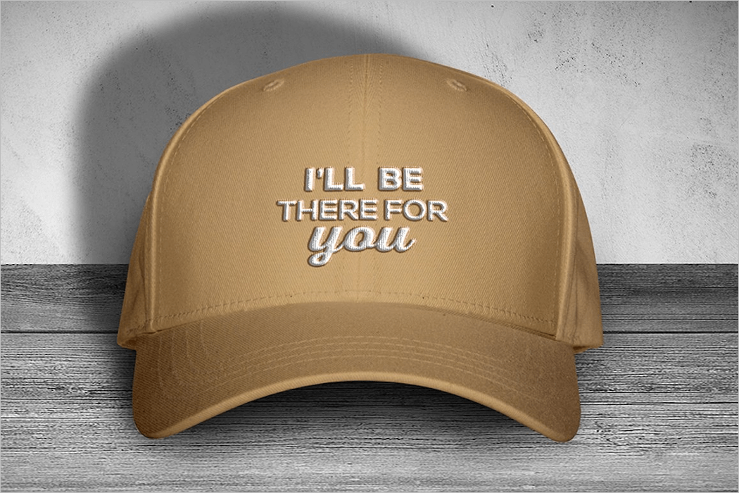 Hat Mockup Template PSD