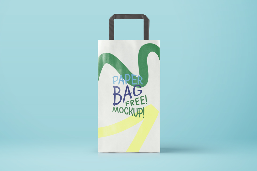 High Resolution Bag Mockup Design