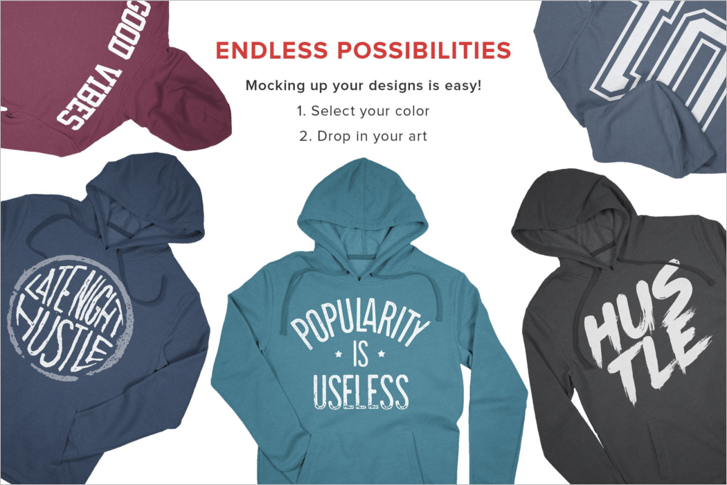 Hoodie Fashion Mockup Photoshop