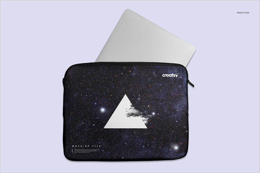 Laptop Case Mockup Design