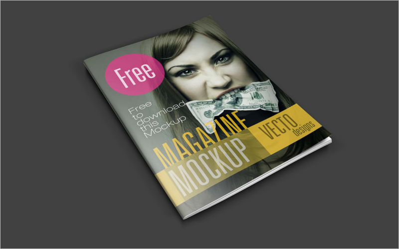 magazines cover templates free