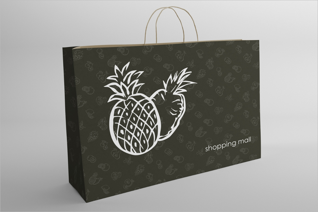 Mockup Design Shopping Bag