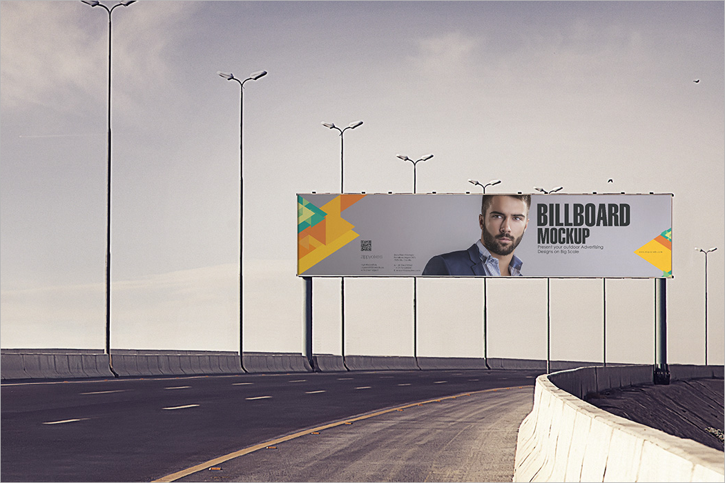 Outdoor Advertising Mockup Design
