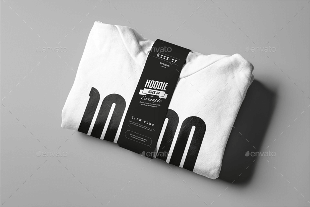 Packaging Hoodie Mockup Design