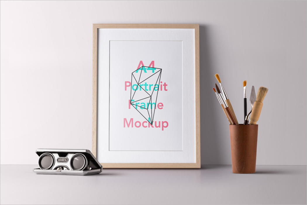 Poster Style Mockup Design