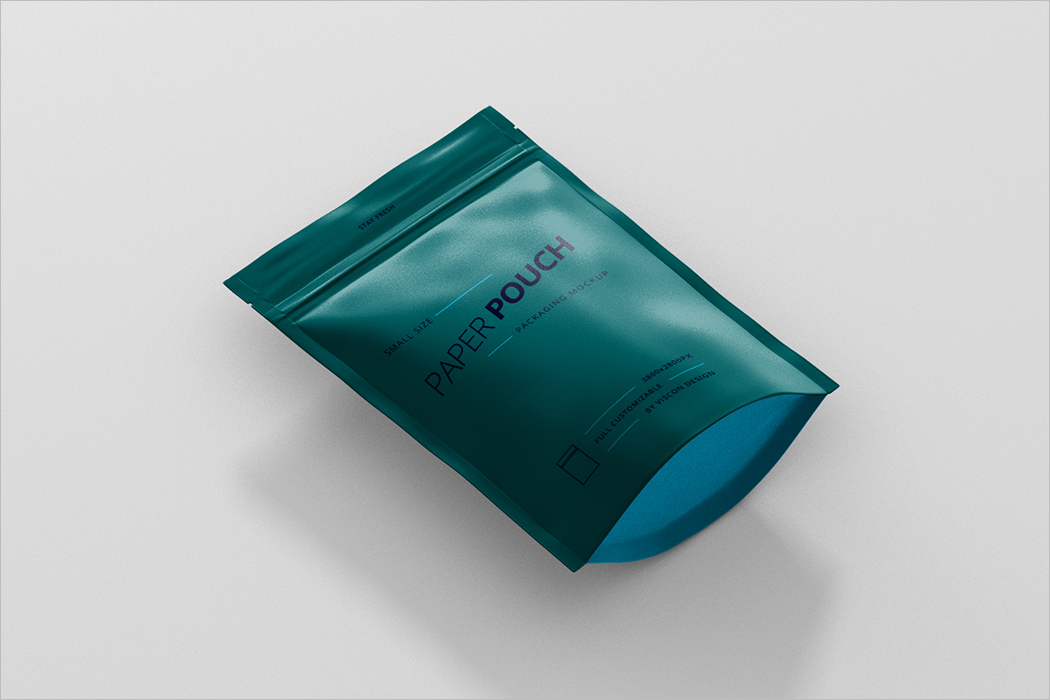 Pouch Bag Mockup Design