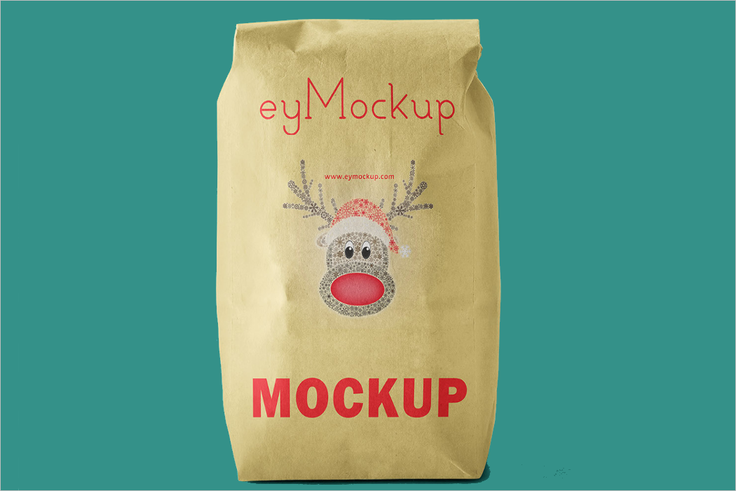 Sack Bag Mockup Design