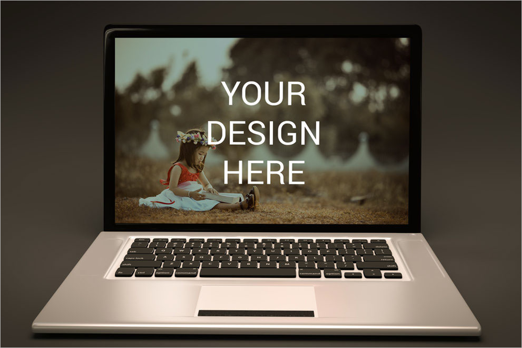 Sample Laptop Mockup Design