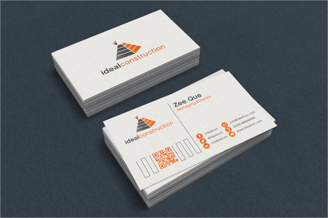 Business Card 3D Mockup Design