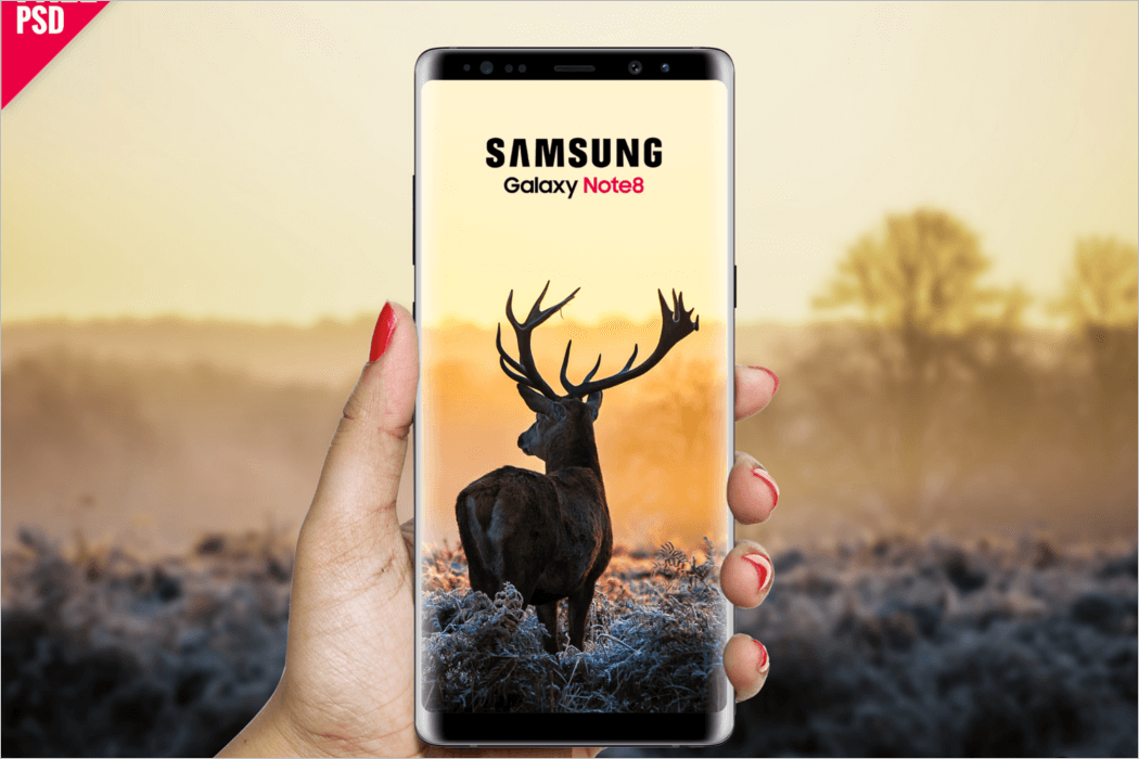 Download Samsung Mobile Mockup