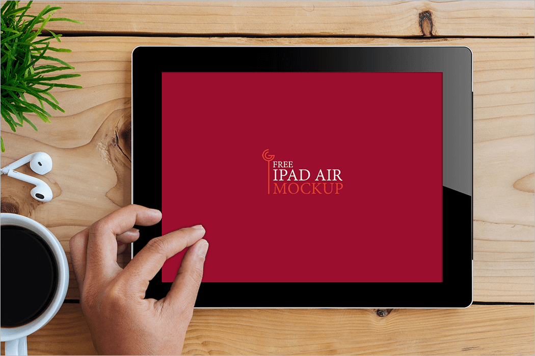 Free iPad Mockup PSD Download