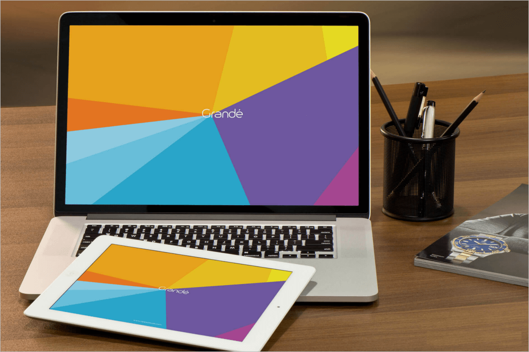 Laptop Mockup Vector Download