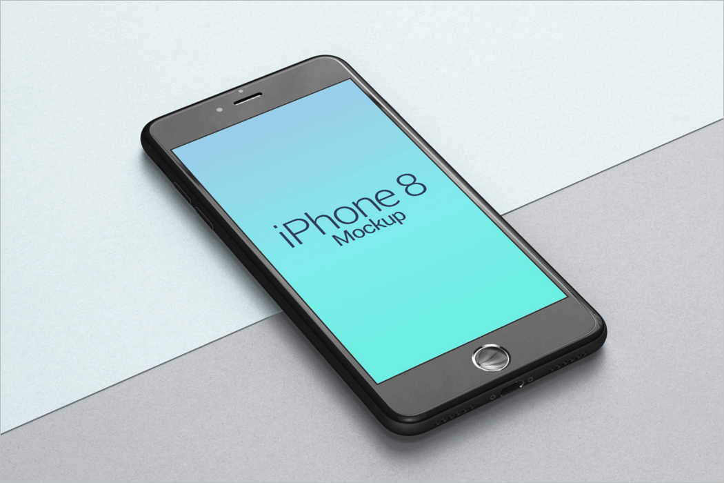 Mobile Mockup Design Vector