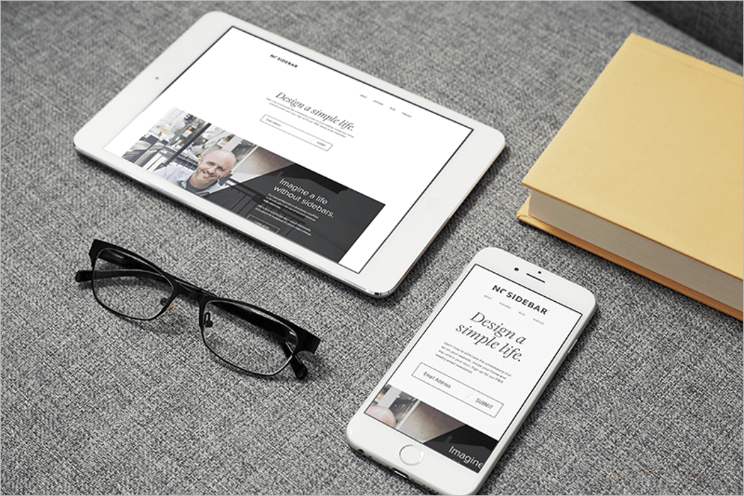 PSD iPad Mockup Download