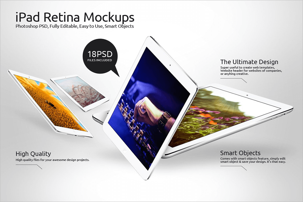 high res ipad mockup
