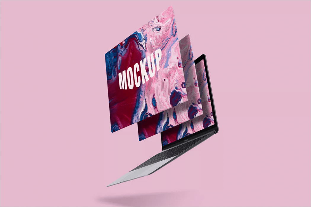 Animated Screen Mockup Deisgn