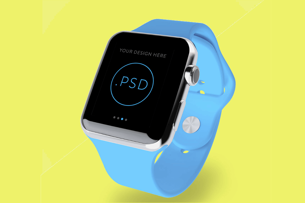 Apple Watch Screen Mockup PSD