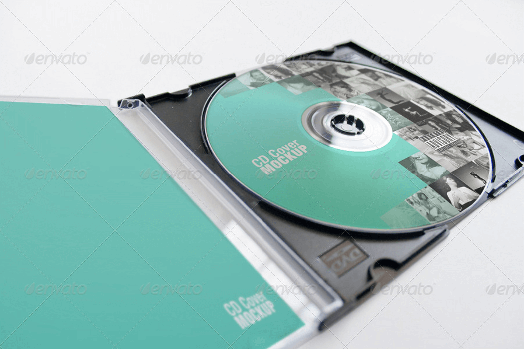 CD Case Mockup Download