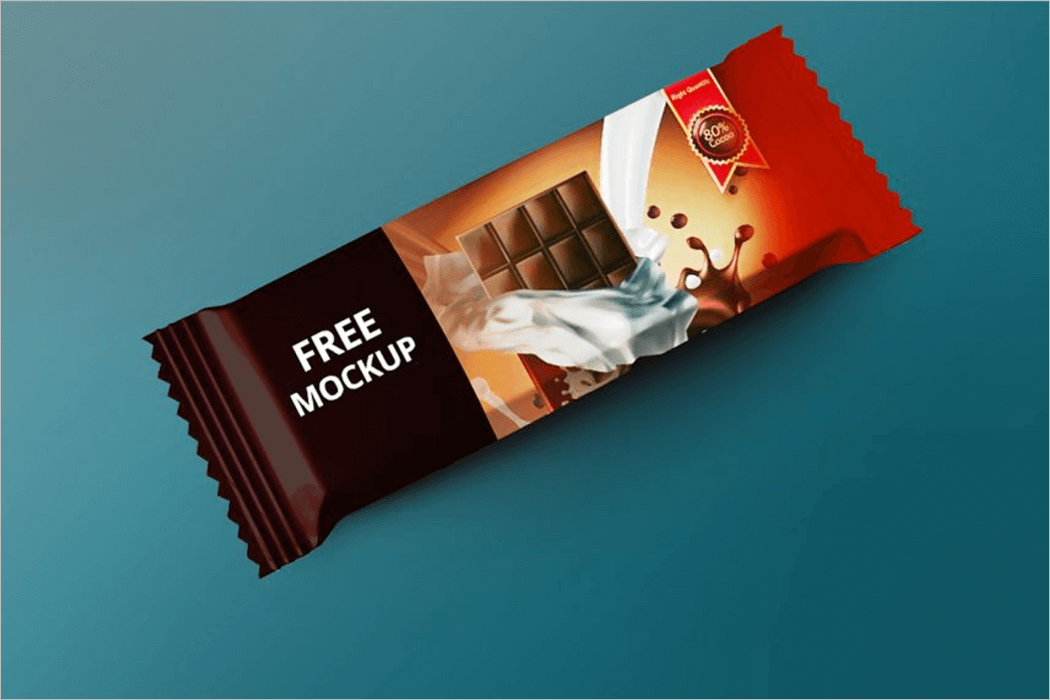 Candy Bar Mockup Template