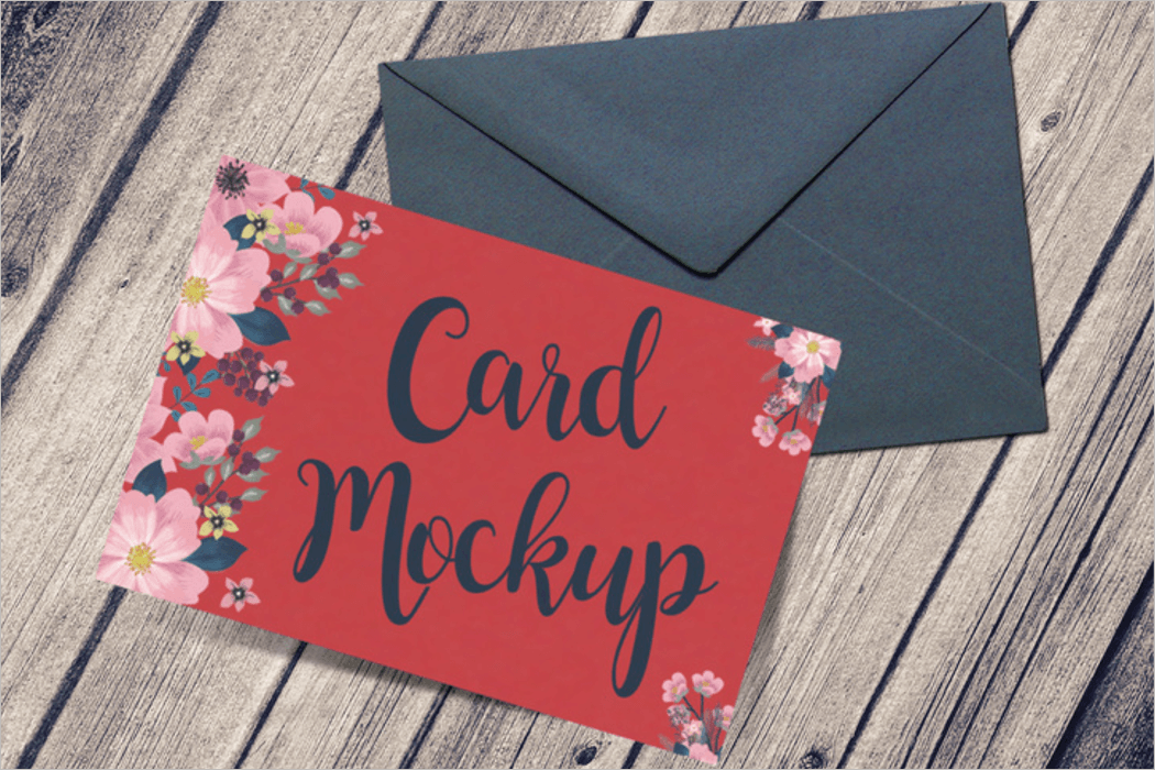 Card Mockup Design Template