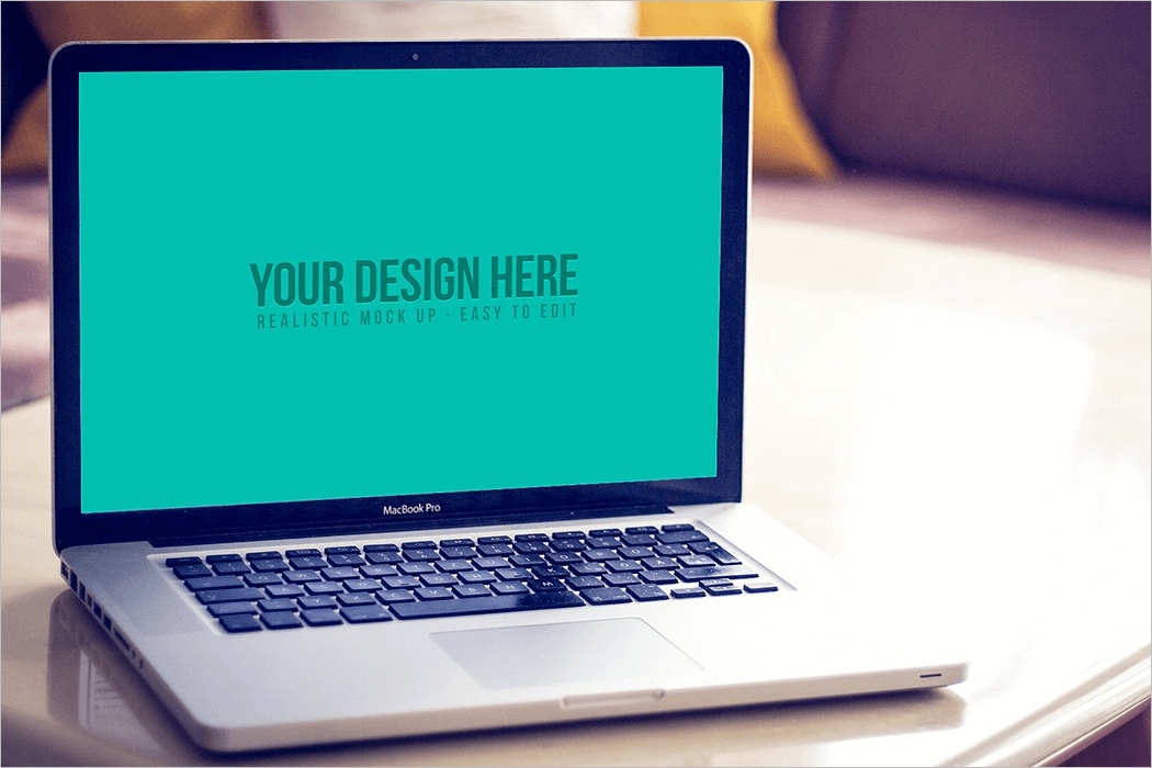 Clean Screen Mockup Design