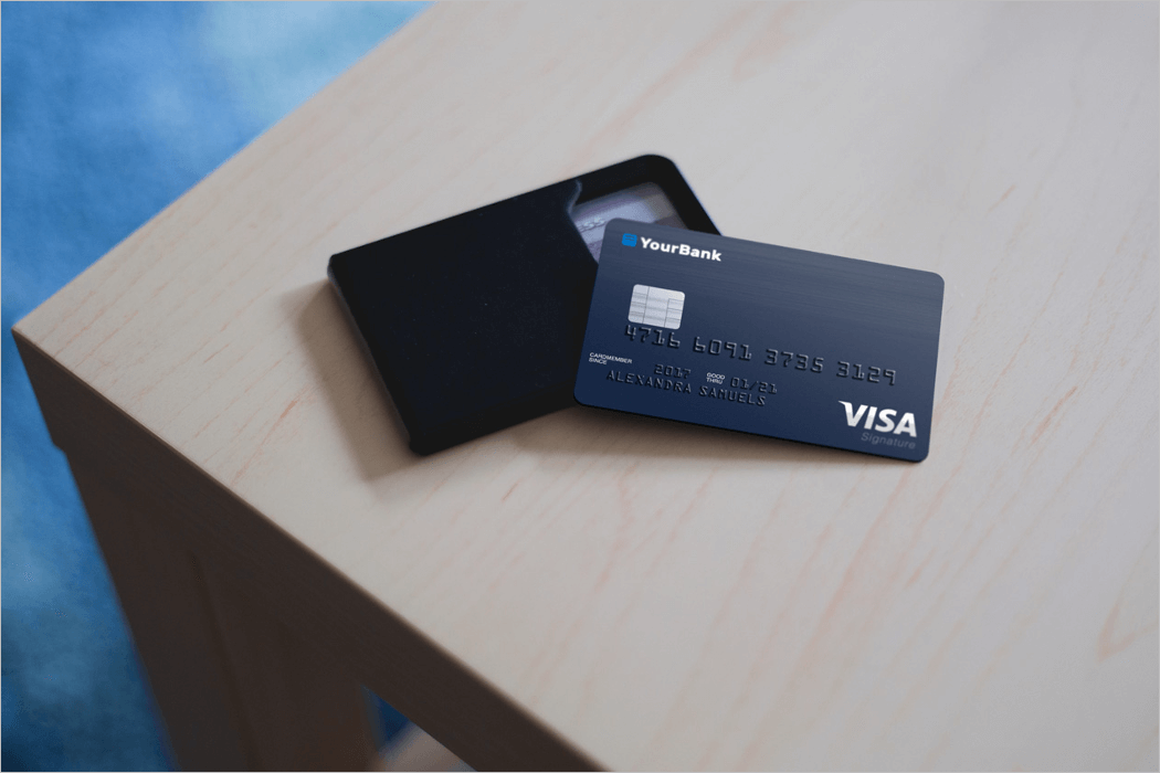 Credit Card Mockup Free Download