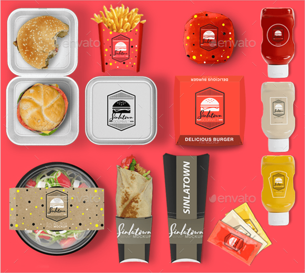 Fast Food Product Mockup