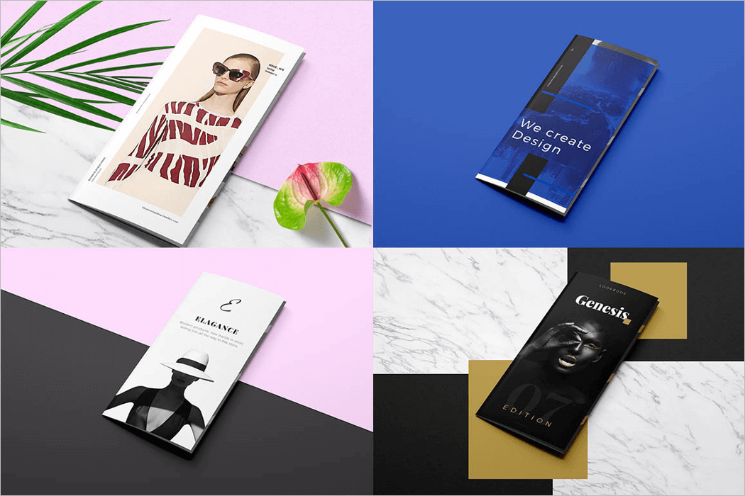 Flyer Mockup PSD Template