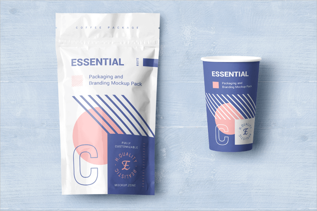 Free Download Packaging Mockup