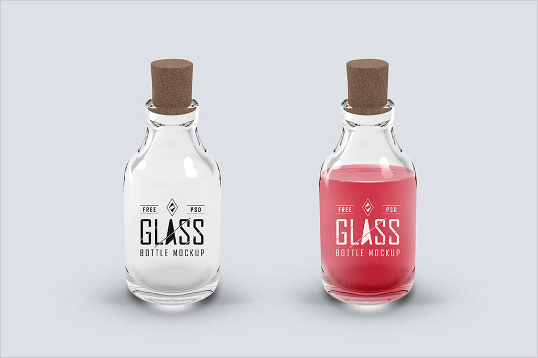 Glass Product Mockup