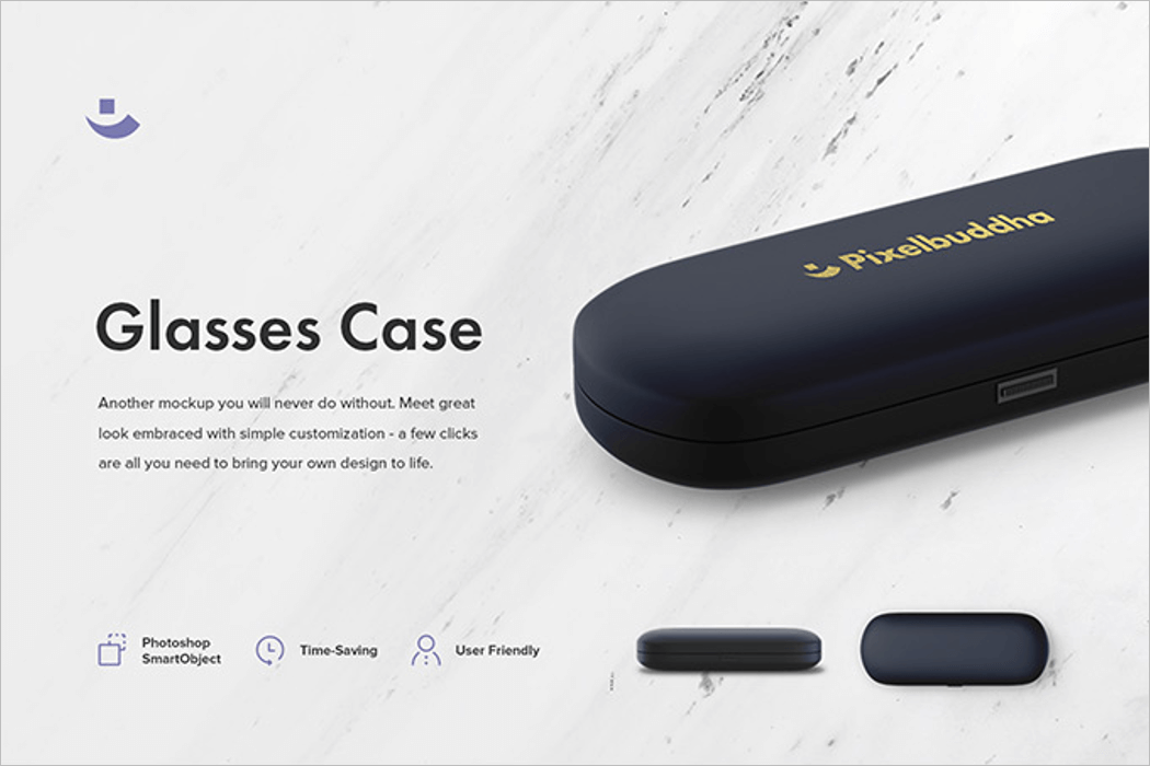 Glasses Case Product Mockup