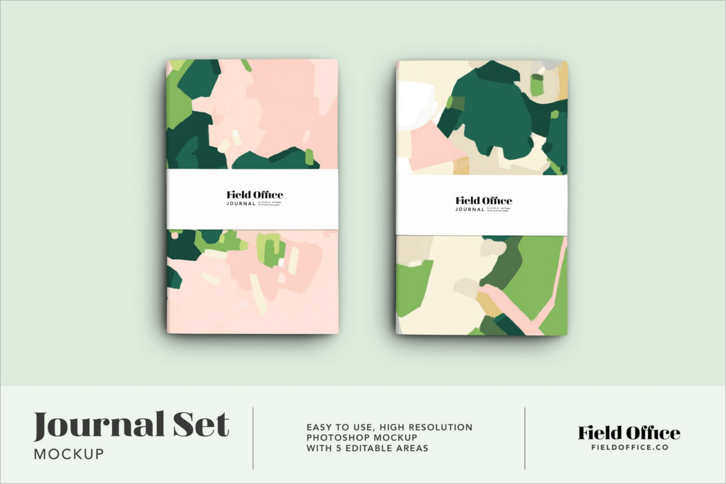 Journal Product Mockup