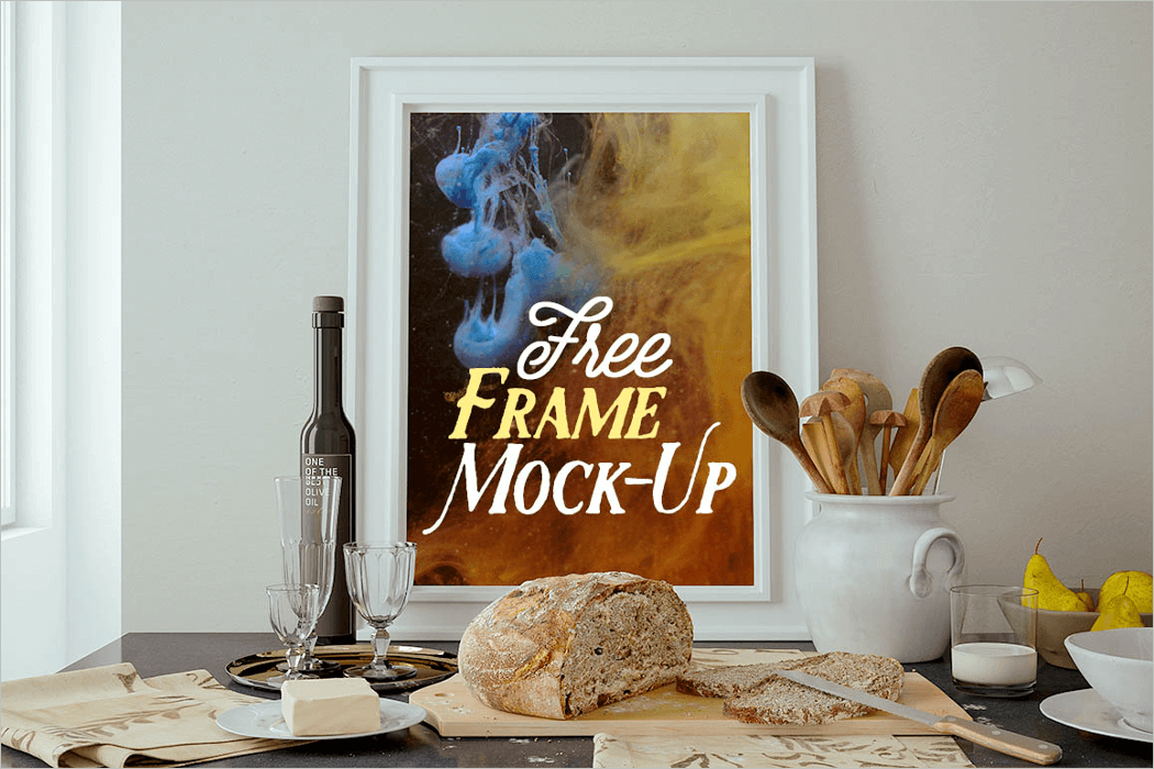 Kitchen Frame Mockup