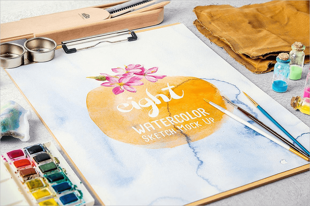Mockup Painting Template