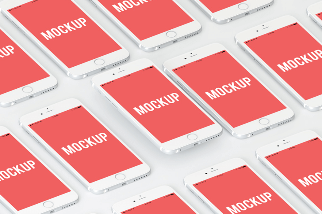 Multiple Screen Mockup PSD Download