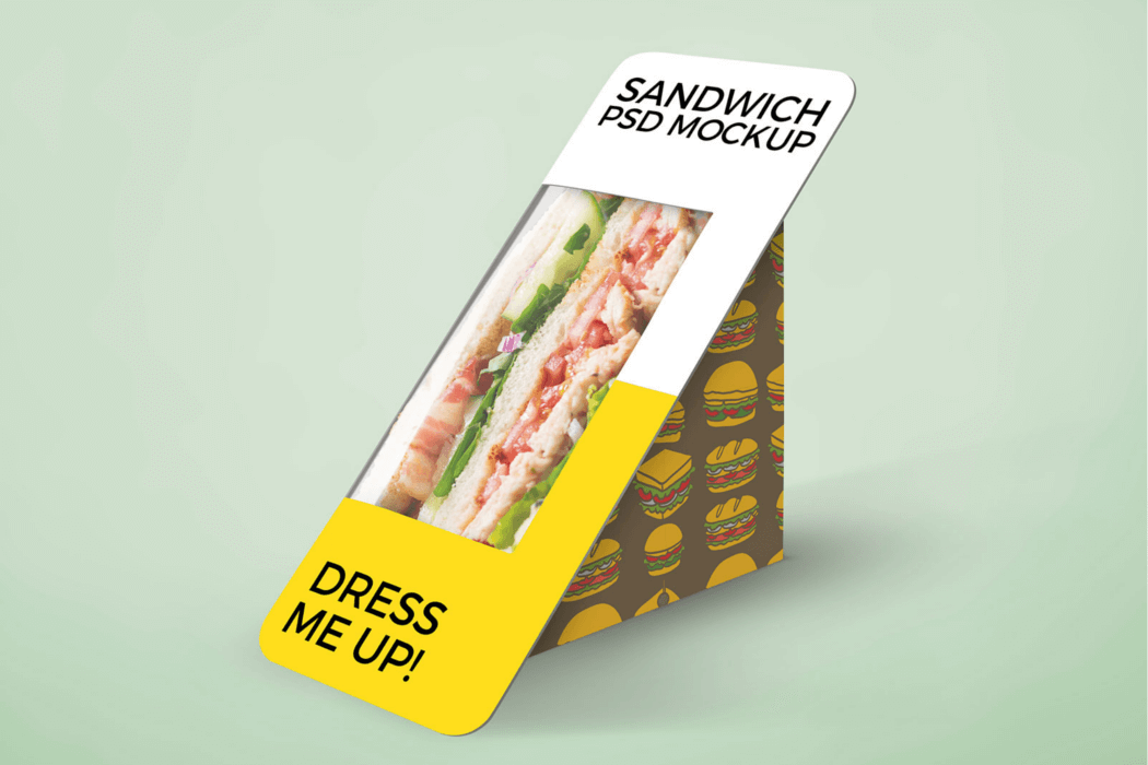 Sandwich Packaging Mockup