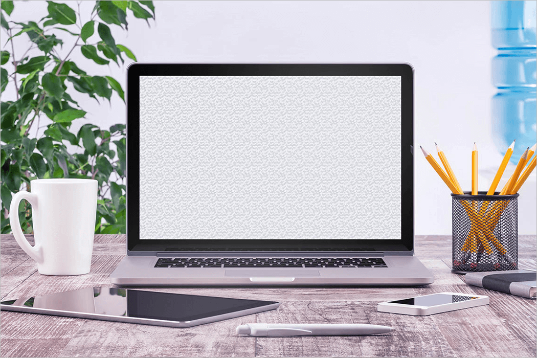 Screen Mockup Design Template