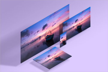 Screen Mockup PSD Templates