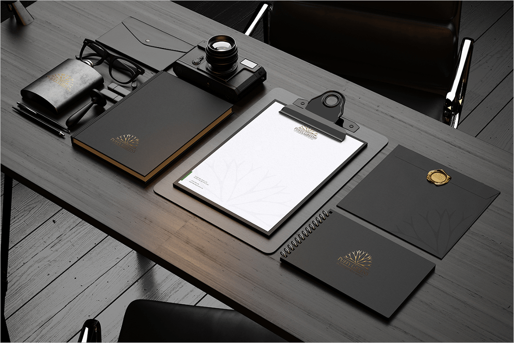 Stationery Mockup Design