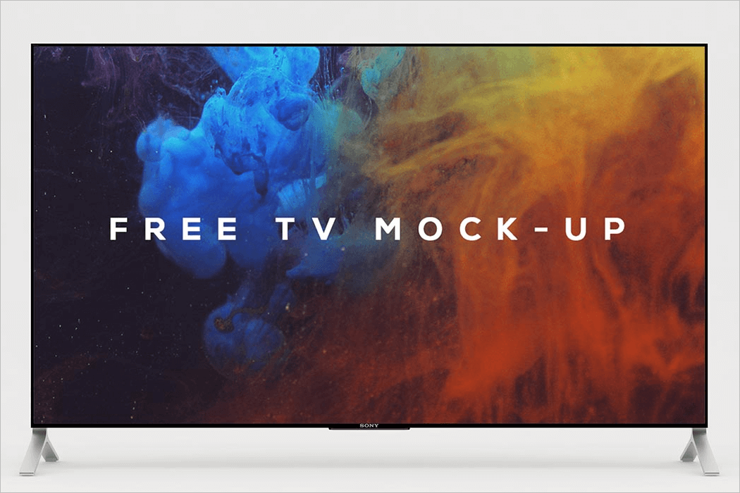 TV Mockup PSD Free Download